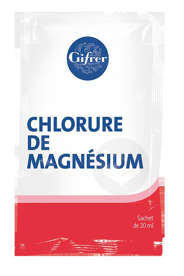 Chlorure De Magnesium En Sachet 20 G