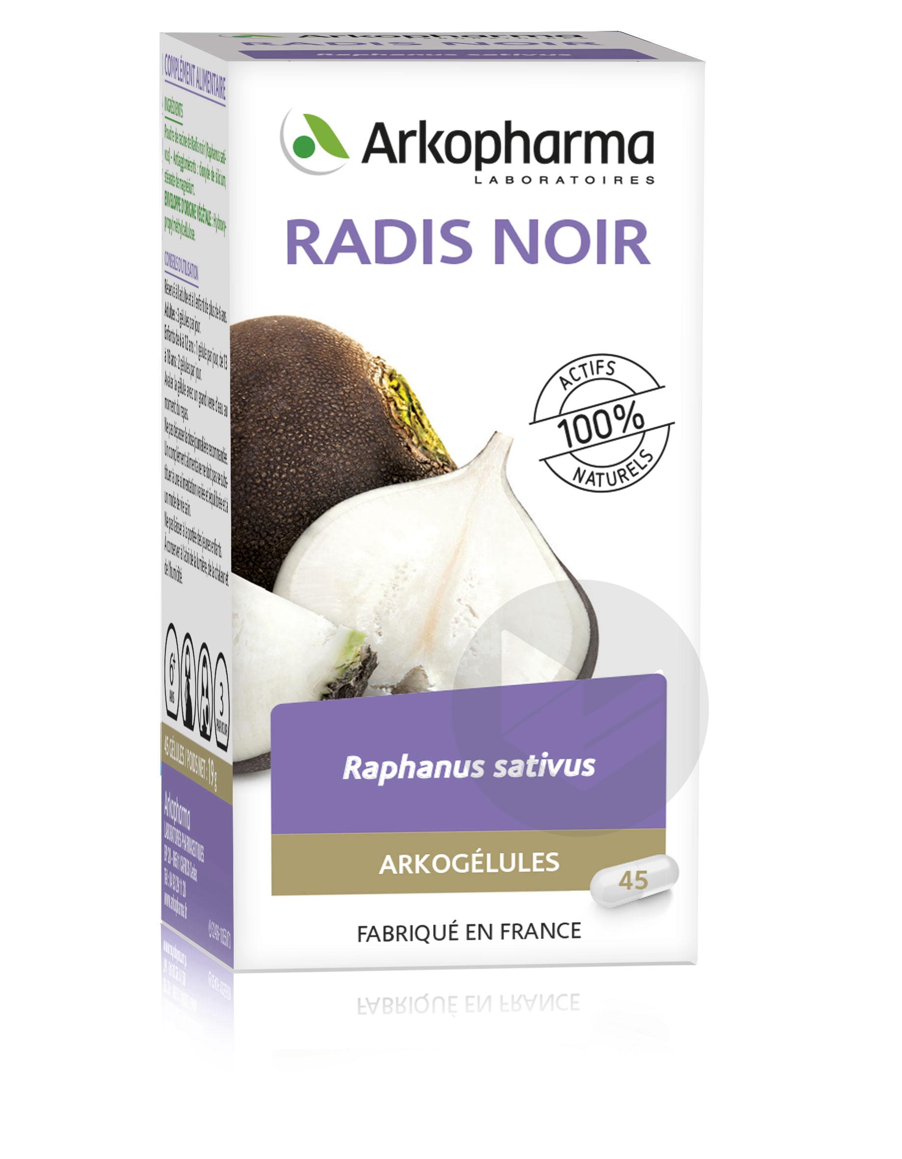 Radis Noir 40 Vg Bio