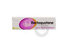 RECTOQUOTANE Crème rectale (Tube de 20g)