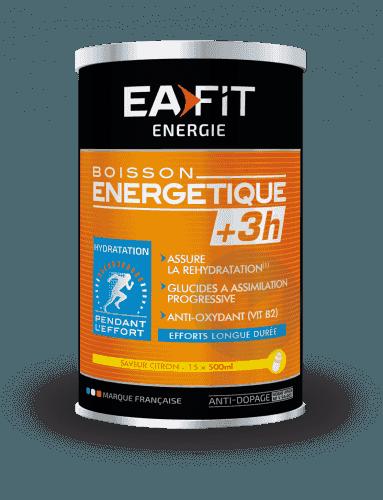 EAFIT ENERGIE Pdr pour boisson énergétique +3H citron Pot/500g