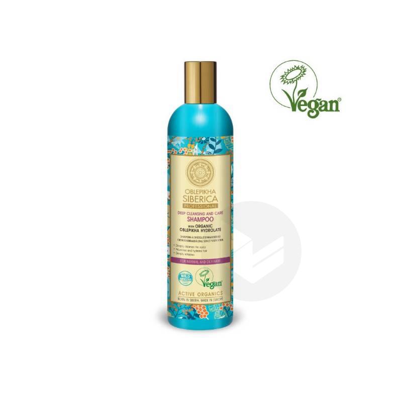 Shampoing à l'Argousieur Cheveux Normaux à Gras 400ml