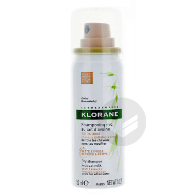 Capillaire Shampooing Sec Avoine Teinte Spray 50 Ml