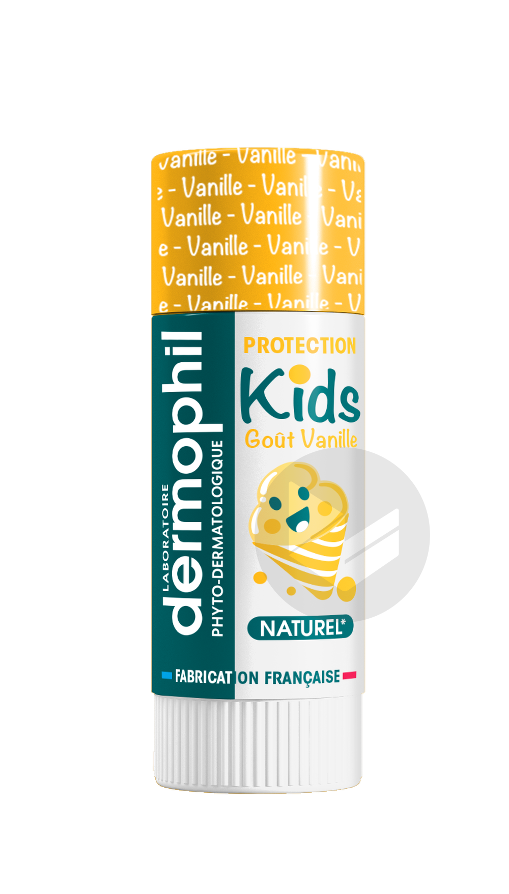 Indien Kids Protection Levres Vanille 4 G