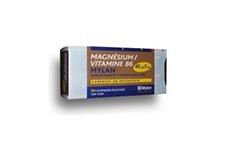 Magnesium Vitamine B 6 Mylan 48 Mg 5 Mg Comprime Pellicule Plaquette De 50
