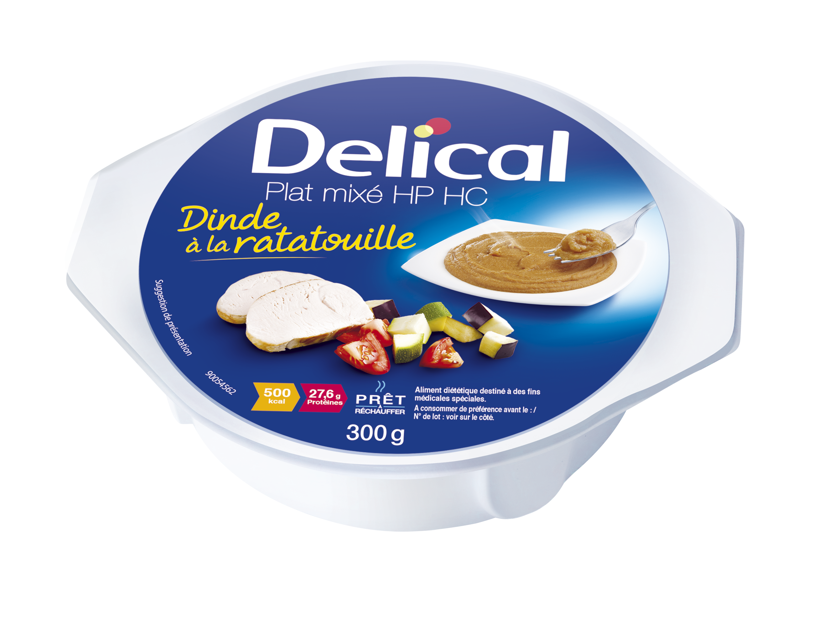 Delical Nutra Mix Hp Hc Dinde Ratatouille