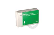 SUPPOSITOIRES A LA GLYCERINE MONOT Suppositoire adulte (Sachet de 100)