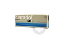 CLARADOL 500 mg Comprimé sécable (Boîte de 16)
