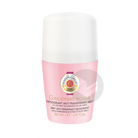 ROGER GALLET GINGEMBRE ROUGE Déodorant Roll-on/50ml