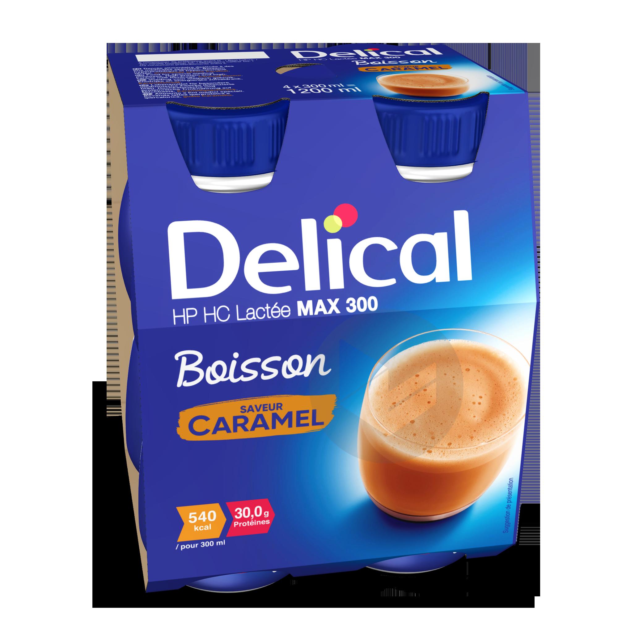 Delical Boisson Hp Hc Max 300 Lactee Caramel
