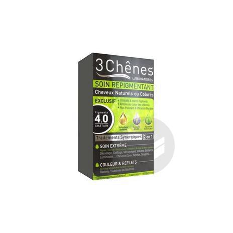 Repigmentant Kit Cheveux Naturels Ou Colores 4 0 Pigments Chatain