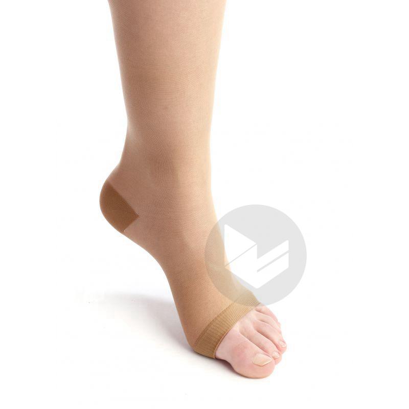 VENOFLEX INCOGNITO ABSOLU 2 Chaussette pied ouvert femme bronze T2L