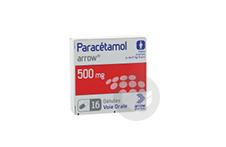 PARACETAMOL ARROW 500 mg Gélules (Flacon de 16)