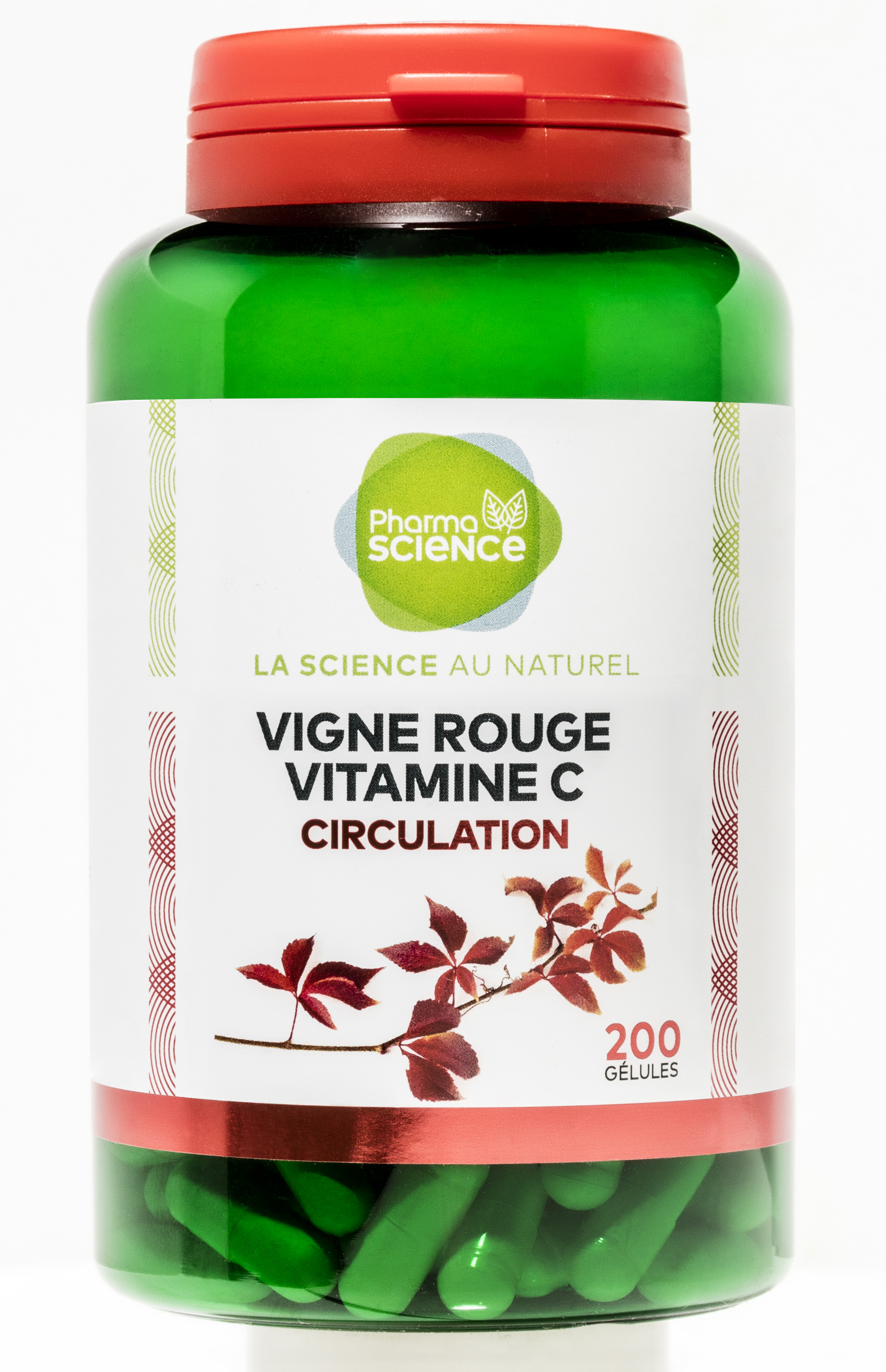VIGNE ROUGE / VITAMINE C CIRUCULATION