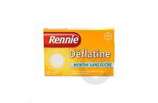 RENNIE DEFLATINE Comprimé à croquer sans sucre édulcoré au sorbitol (Plaquette de 18)