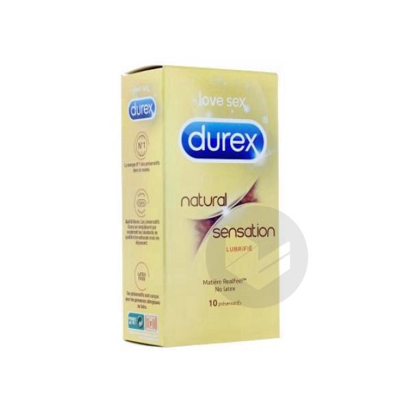 DUREX NATURAL SENSATION Préservatif B/10