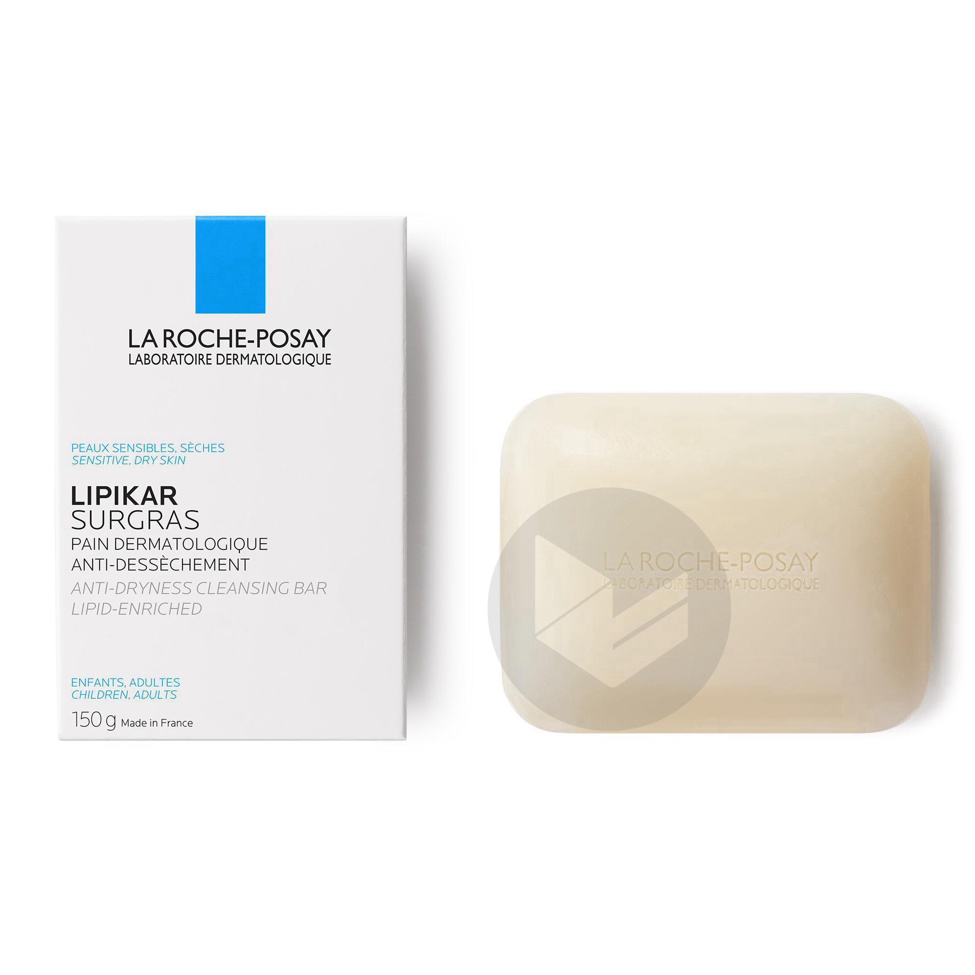Lipikar Surgras Pain Dermatologique Anti Dessechement Pain 150 G