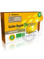 Arko Royal Gelee Royale Bio 1500 Mg S Buv 20 Amp 15 Ml