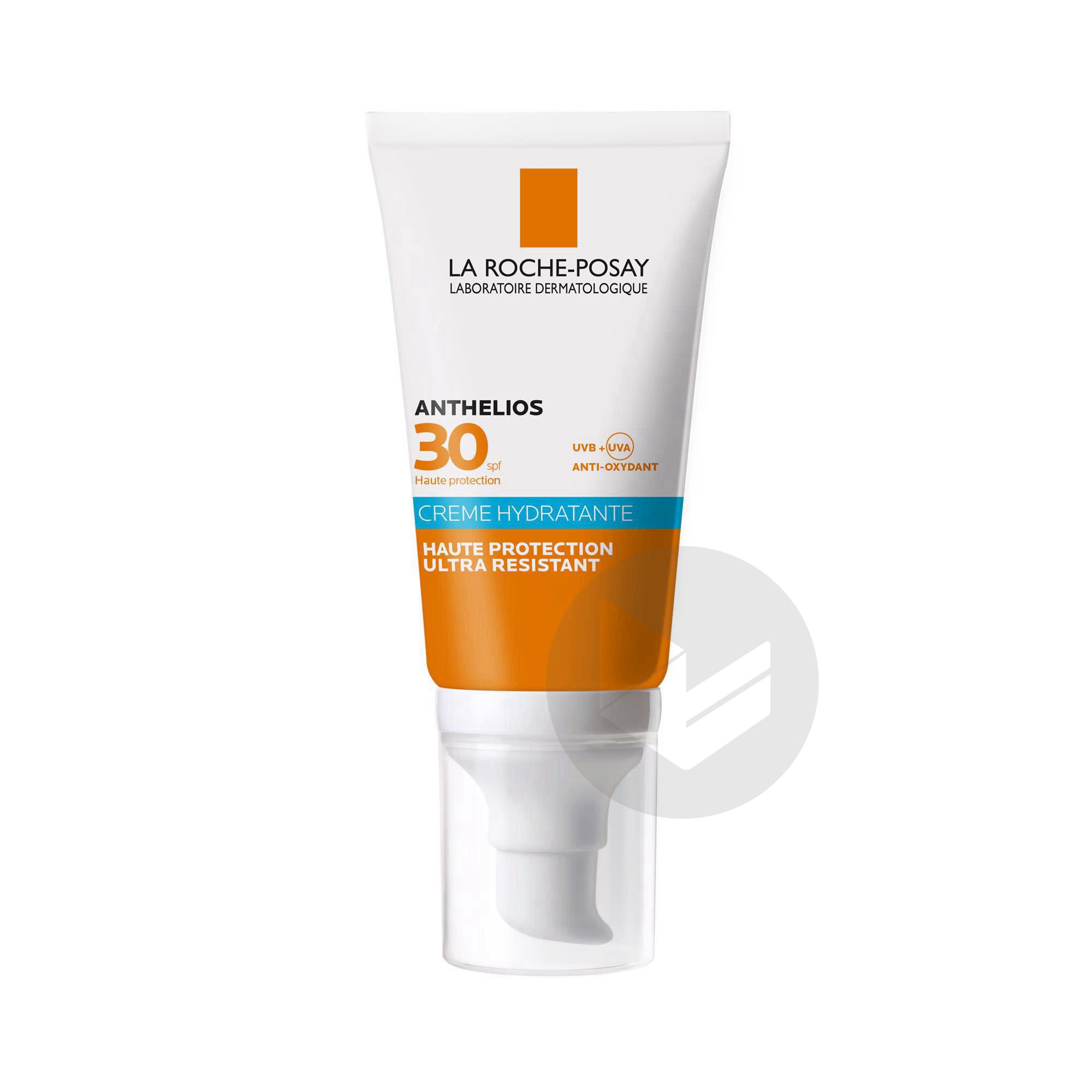 Anthelios Creme Solaire Hydratante Visage Spf 30 Avec Parfum 50 Ml