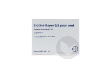 Bayer 0 5 Solution Injectable Im 6 Ampoules De 1 Ml