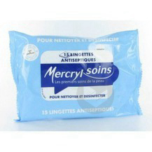 Soins Lingette Antiseptique Sach 15