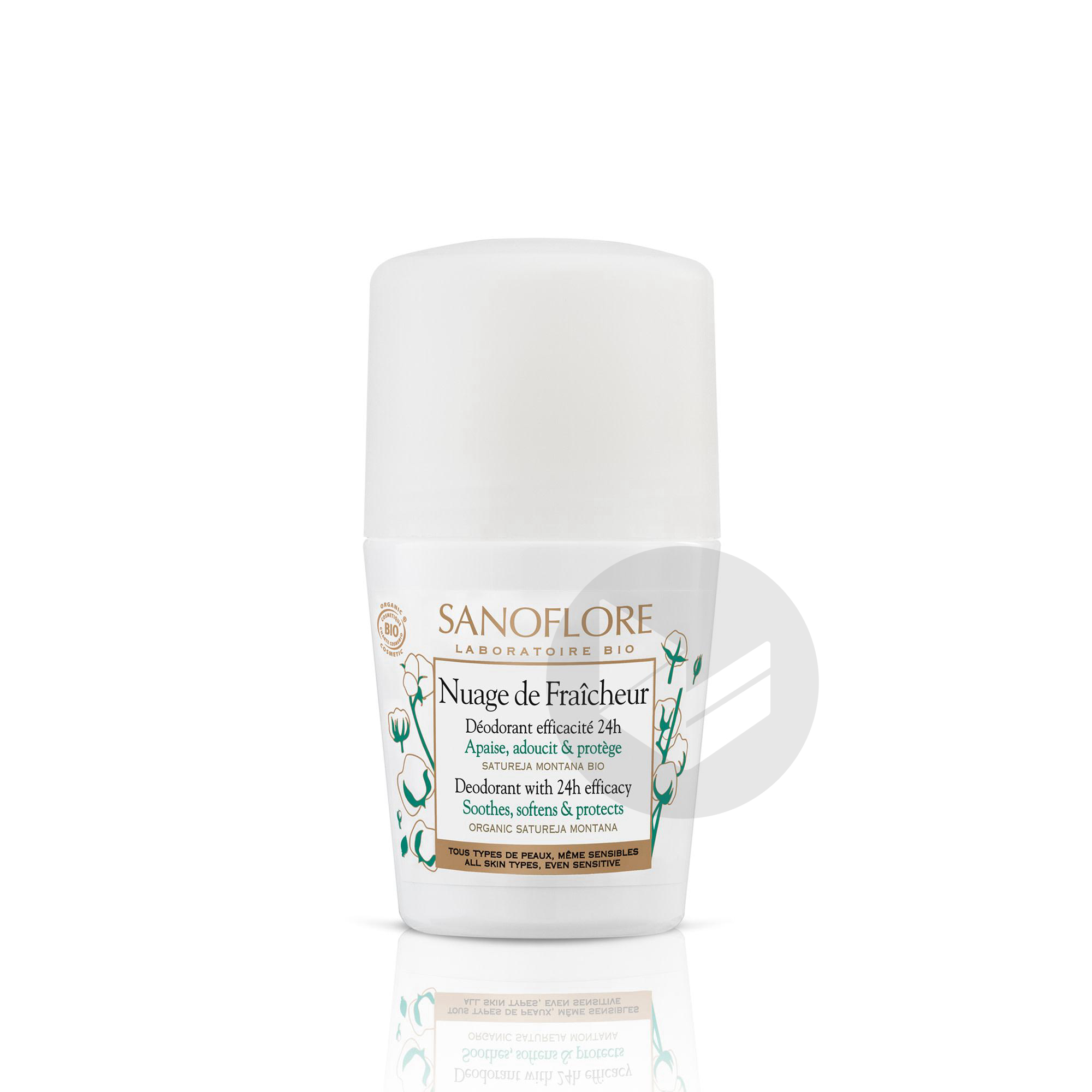 Nuage De Fraicheur Deodorant Sans Alcool Efficacite 24 H 50 Ml
