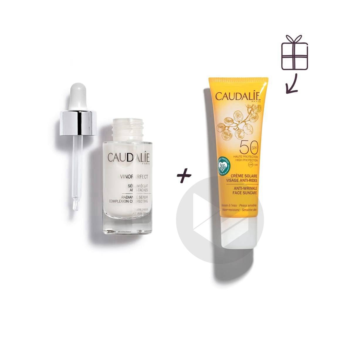 Vinoperfect Serum Eclat Antitache 30 Ml Creme Solaire Offerte