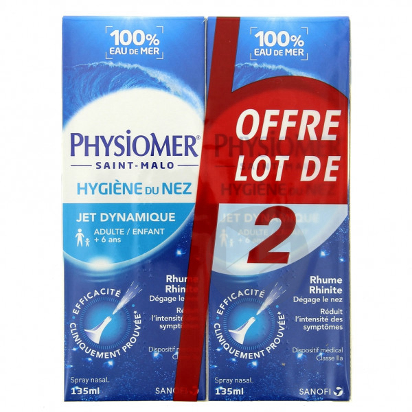 Physiomer Jet Dynamique 2 X 135 Ml