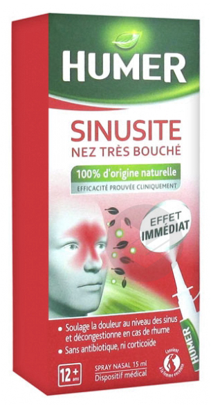 Nez Tres Bouche Sinusite 15 Ml