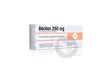 BECILAN 250mg Comprimé sécable (Boîte de 40)