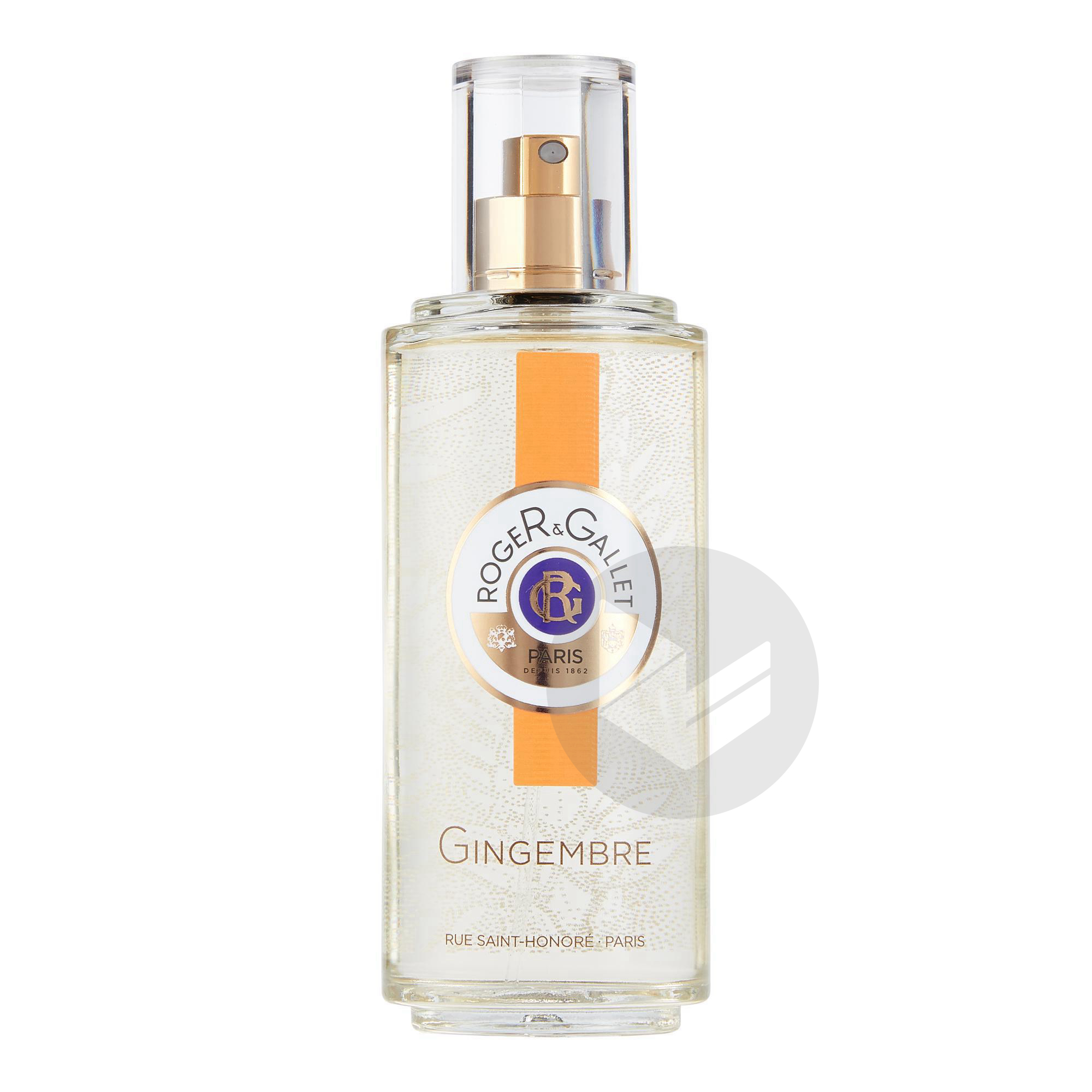 Gingembre Eau Fraiche Parfumee Bienfaisante Vaporisateur 100 Ml