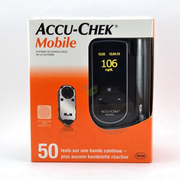 Accu Chek Mobile Lecteur Glycemie Tout En Un