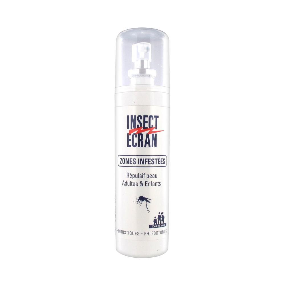 INSECT ECRAN ZONES INFESTEES Lot Spray/100ml