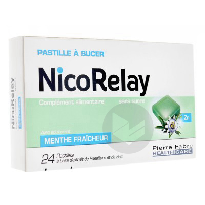 Nicorelay Sans Sucre Past A Sucer B 24