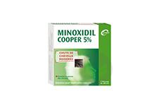 MINOXIDIL COOPER 5 % Solution pour application cutanée (3 flacons de 60ml)