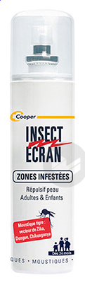 Insect Ecran Zones Infestees Peaux Adultes 100 Ml X 2