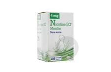 Eg 4 Mg Gomme A Macher Medic Sans Sucre Menthe Edulcoree A Lacesulfame Potassique Et Saccha Plaquette De 108