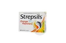STREPSILS Vitamine C Pastille orange (Plaquette de 24)
