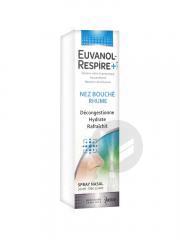 Euvanol Respire Spray Nasal Nez Bouche Rhume Fl 20 Ml