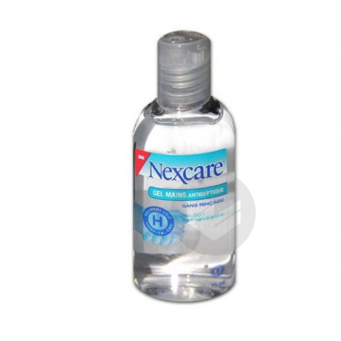 Nexcare Gel Mains Antiseptique Fl 75 Ml