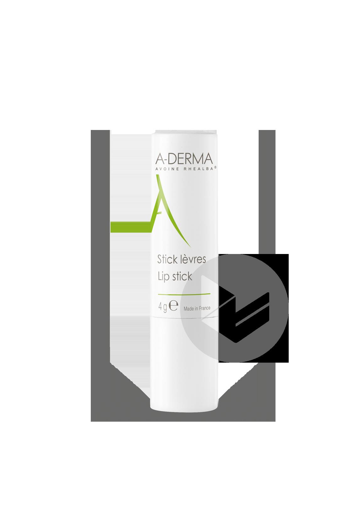 A Derma Les Indispensables Stick Levres 4 G