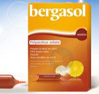 BERGASOL Préparateur Solaire 20 ampoules