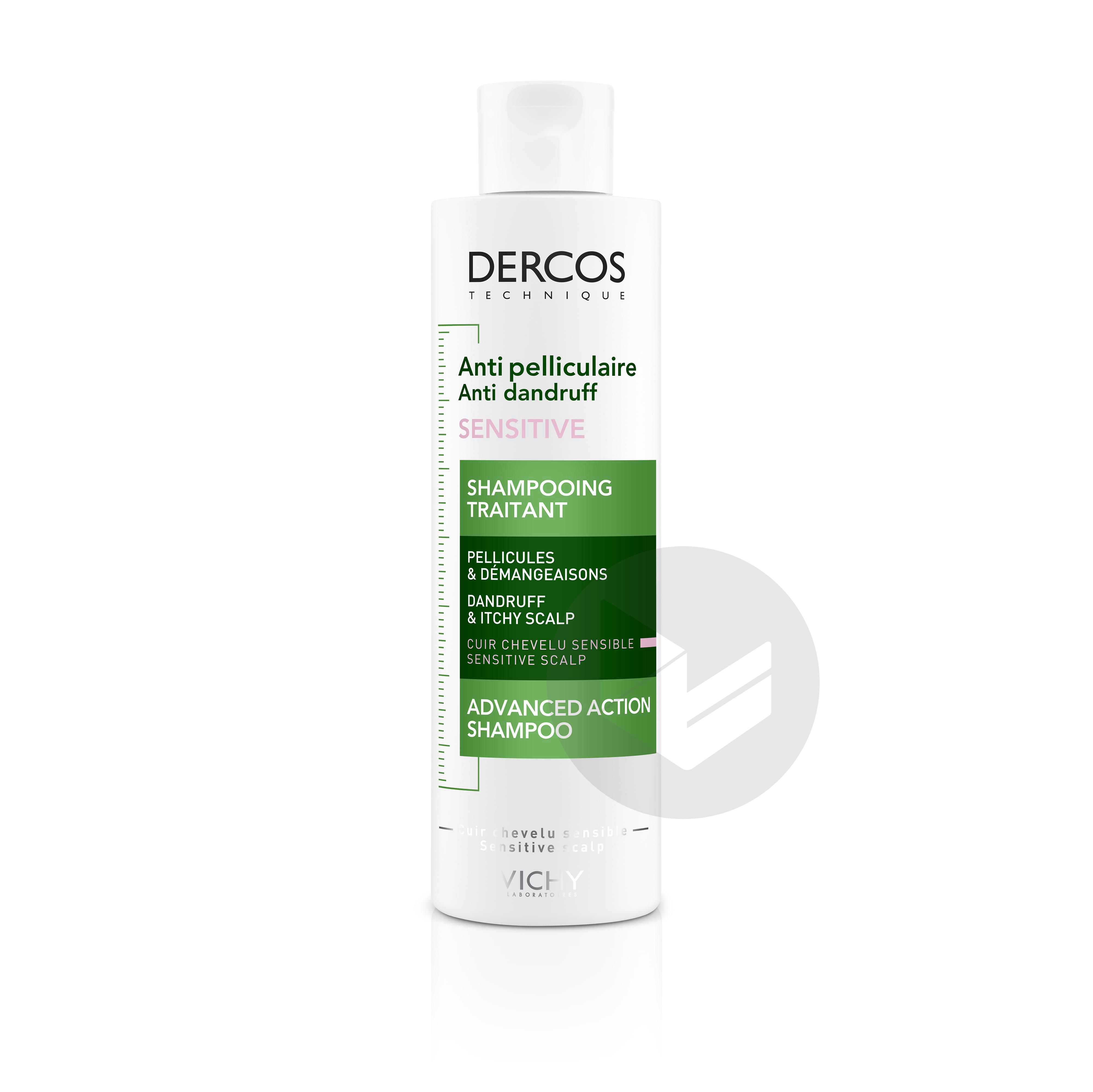 Dercos Technique Anti-pelliculaire Sensitive Shampooing traitant Cuir chevelu sensible