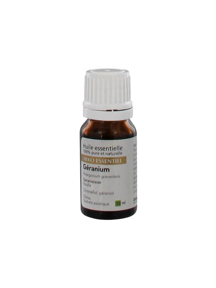 ARKO ESSENTIEL Huile essentielle Géranium Fl/10ml