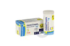 PARACETAMOL BIOGARAN 1 g Comprimé (Flacon de 8)