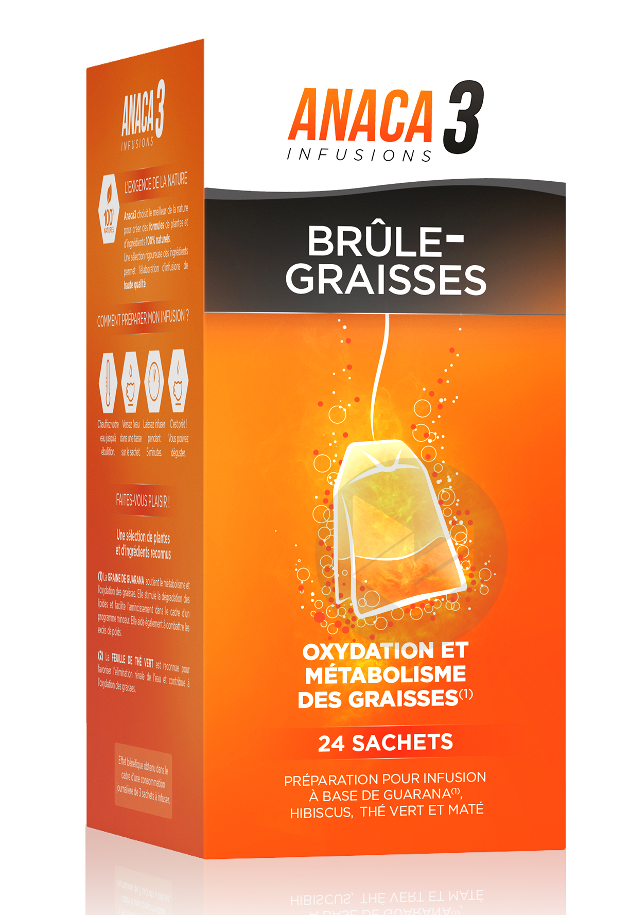 Anaca 3 Infusion Brule Graisses