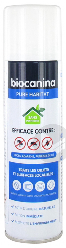 Pure Habitat Spray Antiparasitaire 200 Ml