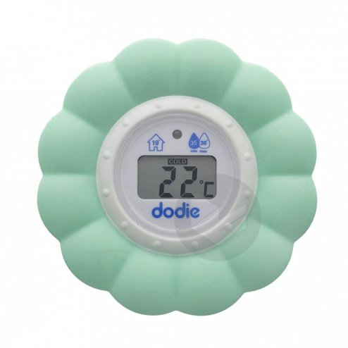Thermometre 2 En 1 Bain Et Chambre Fleur