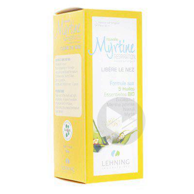 Myrtine Inhalante Sol Dinhalation 5 Huiles Essentielles Bio Fl 100 Ml
