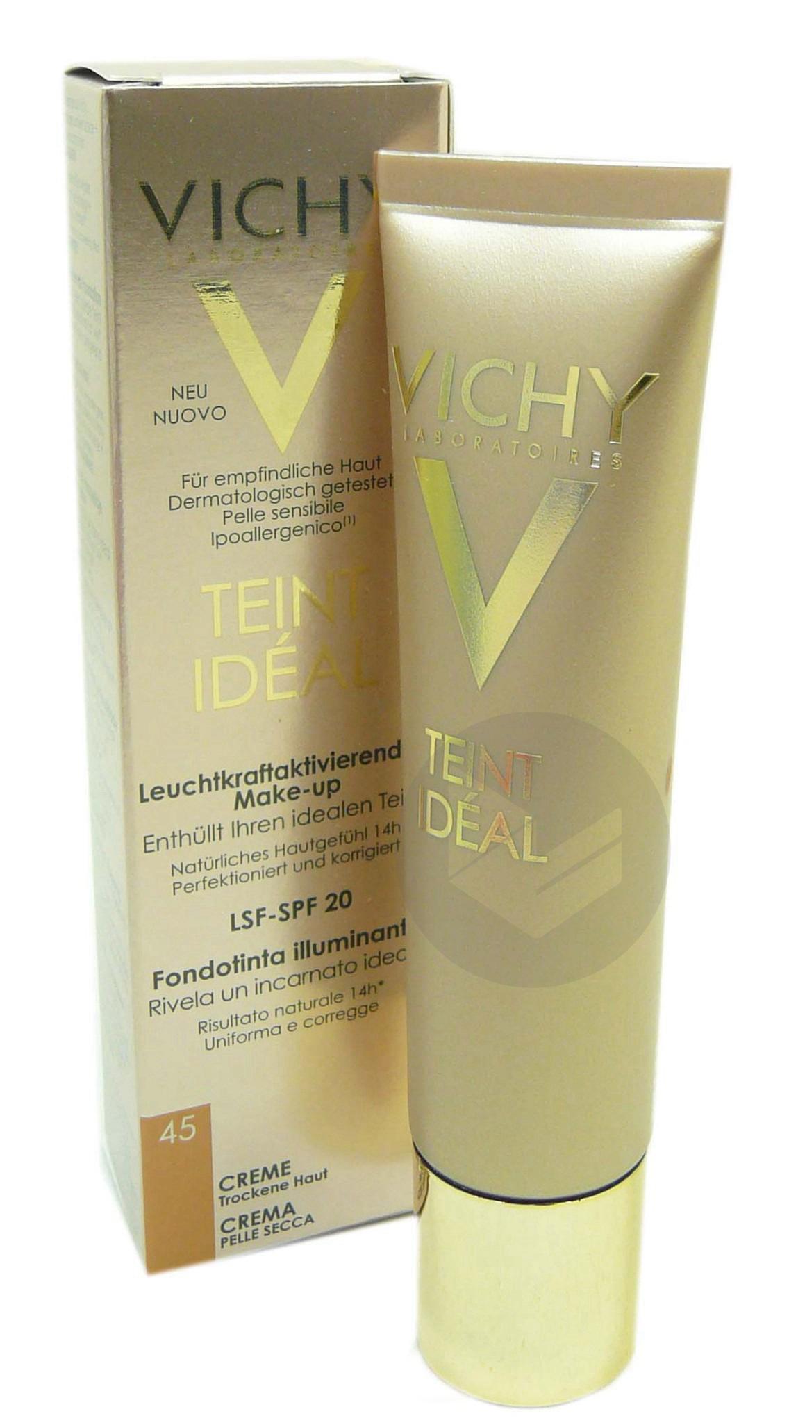 VICHY TEINT IDEAL Cr n°45 T/30ml