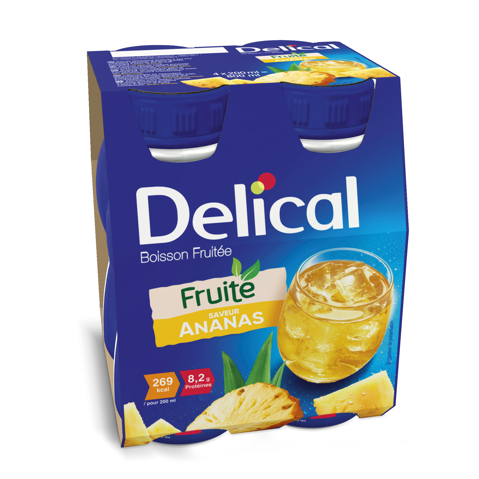 Delical Boisson Fruitee Ananas